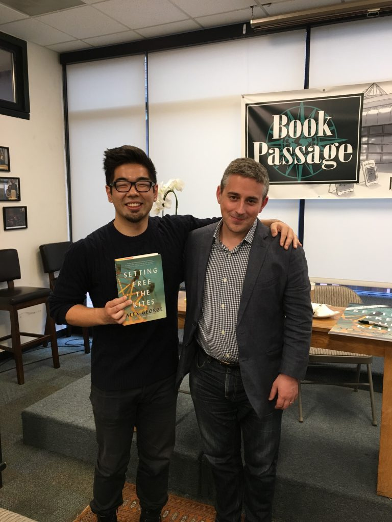 With Garrett, my host at Book Passage